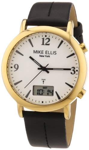 Mike Ellis New York Damen-Armbanduhr XS Analog - Digital Quarz Leder M2942AGU1