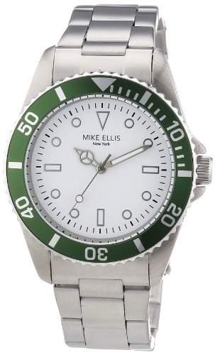 Mike Ellis New York Herren-Armbanduhr Analog Quarz M2969ASM3