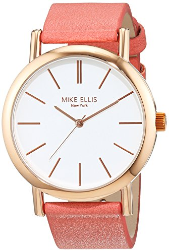 Mike Ellis New York Damen Armbanduhr Sammi Analog Quarz Kunstleder SL2979B6