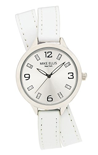 Mike Ellis New York Damen Armbanduhr Streamline Analog Quarz Leder SL3142E7