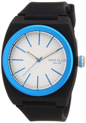 Mike Ellis New York Unisex-Armbanduhr Analog Quarz S5244CS10