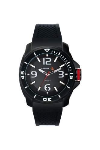 Firebird Herren-Armbanduhr XL Hunter Analog Quarz Kautschuk FB101B