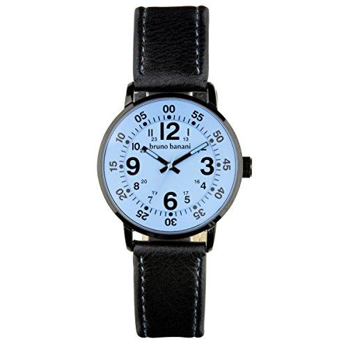 Bruno Banani Uhr Armbanduhr Moros Leder Analog BR30015