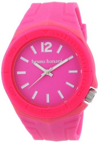 Bruno Banani Unisex Armbanduhr Prisma Analog Plastik BR21056