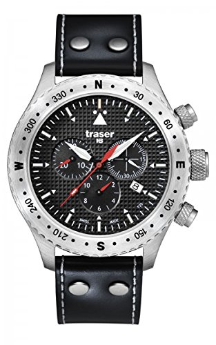 TRASER Aviator Jungmann Watch Leder