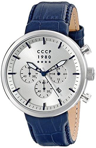 CCCP Herren cp 7007 05 KASHALOT Kleid Analog Display Japanische Quarz blau Armbanduhr