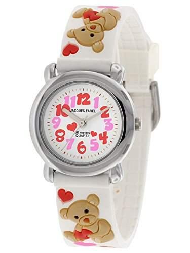 Jacques Farel Maedchen-Armbanduhr HBBC3388