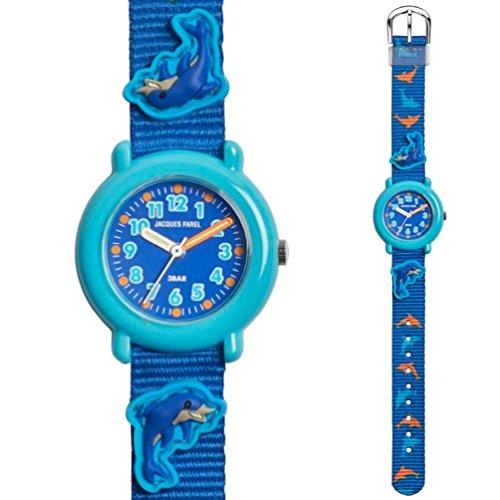 Jacques Farel Kids Uhr Modell KPA9988 Delphin