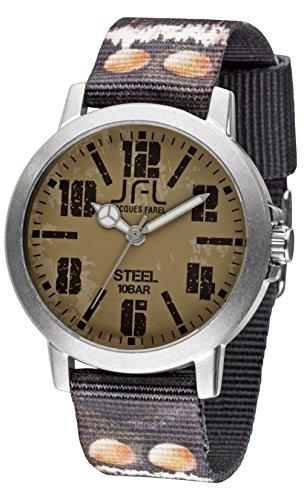 Jacques Farel Bullets Jugenduhr mehrfarbig grau CRS014