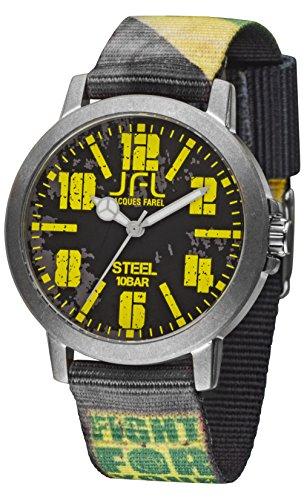 Jacques Farel Reggae Power Jugenduhr schwarz gelb gruen CRS002