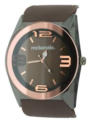 MCKENZIE Herren-Armbanduhr Analog Kunststoff Braun MCK17B