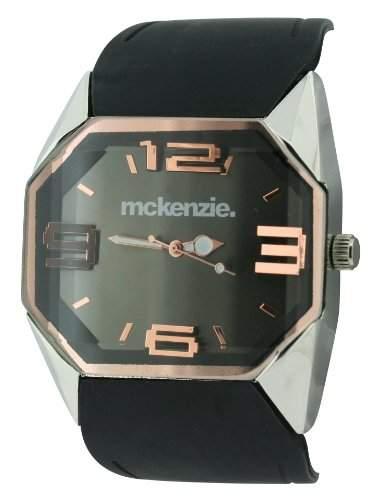 Mckenzie Herren-Armbanduhr Analog silikon schwarz MCK18B