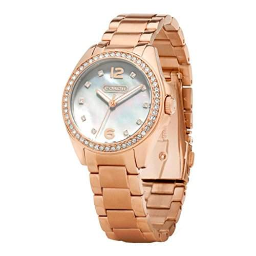 Coach Damen Trisn Analog Dress Quartz Reloj 14501658