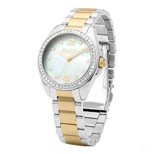 Coach Damen Trisn Analog Dress Quartz Reloj 14501659