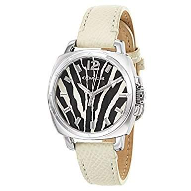 Coach Damen CABSM Analog Dress Quartz Reloj 14502066
