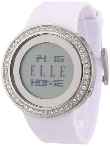 Elle Damen-Armbanduhr Digital Quarz Kautschuk EL20167P02