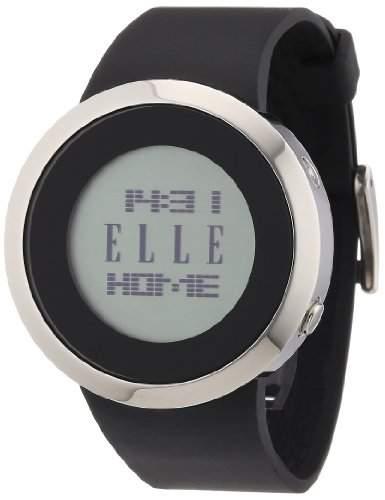 Elle Damen-Armbanduhr Digital Quarz Kautschuk EL20178P02