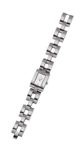 XC 38 700984013M1000 Damen Armbanduhr Alyce Quarz analog Stahl Silber