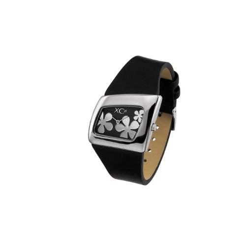 XC38 Damen-Armbanduhr Analog Quarz Schwarz 701761313M1000