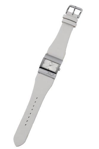XC38 Damen Armbanduhr Analog Quarz Weiss 700982513M0000