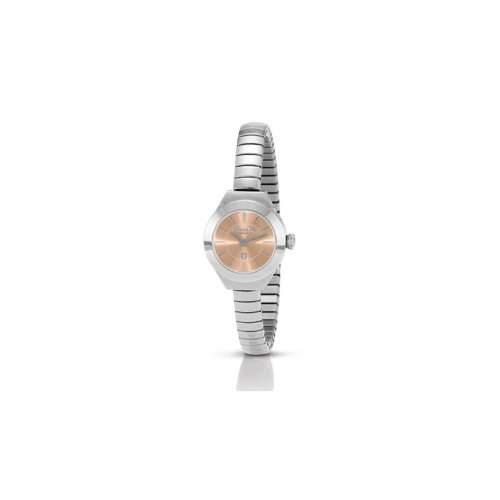 Armbanduhr GENEVE EDELSTAHL mit Armband XTE + BOX 014_Rose