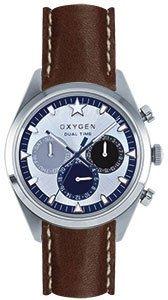 Oxygen Armbanduhr Quarz Crono Armband in cuoiio