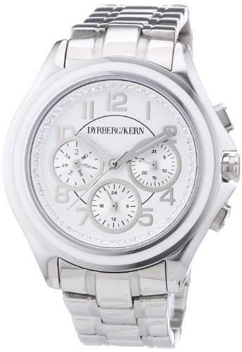 DyrbergKern Damen-Armbanduhr Analog Quarz Edelstahl 334306