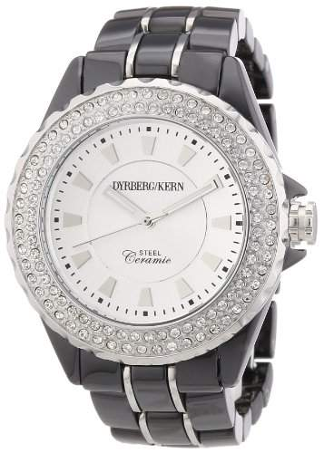 DyrbergKern Damen-Armbanduhr Analog Quarz Keramik 334310