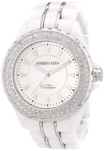 DyrbergKern Damen-Armbanduhr Analog Quarz Keramik 334311