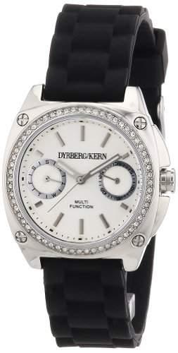 DyrbergKern Damen-Armbanduhr XS Analog Quarz Silikon 334315