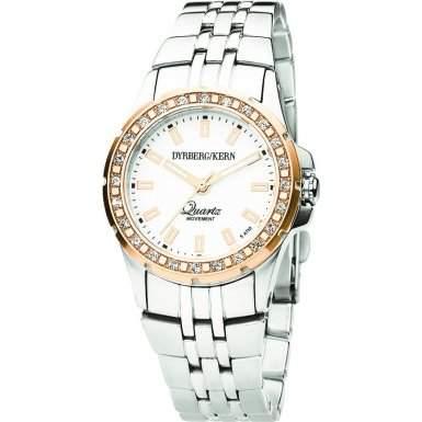 DyrbergKern Damen-Armbanduhr XS COLETTE SMC 2R5 Analog Messing 332674