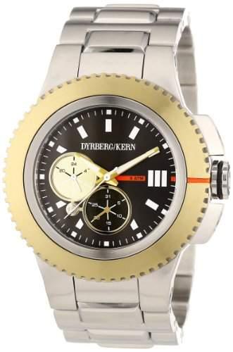 DyrbergKern Damen-Armbanduhr CONTINUUM SM 2G4 Analog Messing 325129