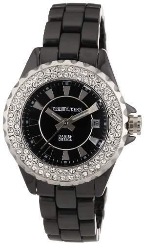 DyrbergKern Damen-Armbanduhr XS CRYSTALIA CEC 4BS4 Analog Quarz Keramik 333508