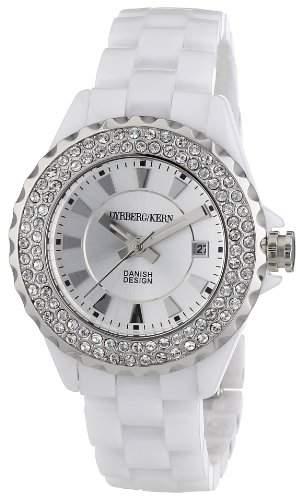 DyrbergKern Damen-Armbanduhr XS CRYSTALIA CEC 5WS5 Analog Quarz Keramik 333506