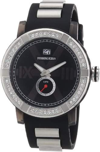 DyrbergKern Damen-Armbanduhr XL KINETIC SRC 4B4 Analog verschiedene Materialien 325135