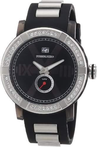 DyrbergKern Damen-Armbanduhr XL KINETIC SRC 4B4 Analog verschiedene Materialien 325135