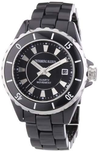 DyrbergKern Damen-Armbanduhr XS Analog Quarz Keramik 332698