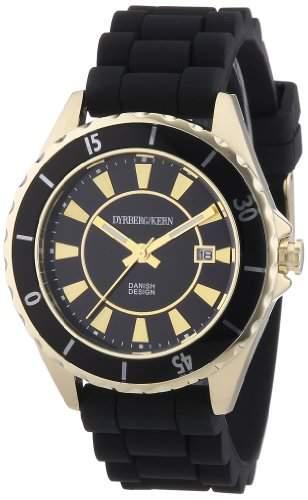 DyrbergKern Damen-Armbanduhr Analog Quarz Silikon 332691