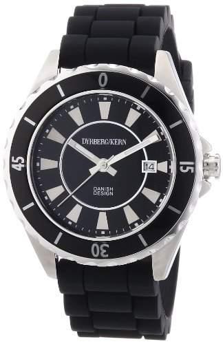 DyrbergKern Damen-Armbanduhr Analog Quarz Silikon 332693