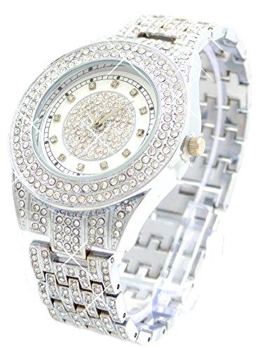 edelste Armbanduhr der Extraklasse Italian Designer Watch hochwertige Armbanduhr mit Edelsteinen besetzt