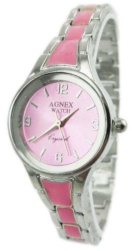 Designer Uhr Metall Armband Uhr edle Armbanduhr in Silber Absolutes Designer Stueck ROSA