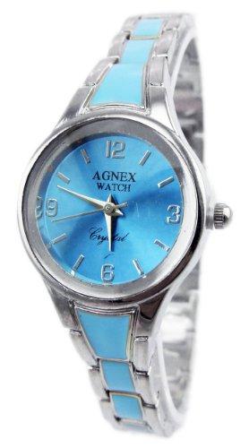 Designer Uhr Metall Armband Uhr edle Armbanduhr in Silber Absolutes Designer Stueck TK