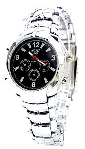 elegante schlichte und klassische Metall Armbanduhr fuer Sie und Ihn Ox17