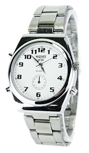 elegante schlichte und klassische Metall Armbanduhr fuer Sie und Ihn Ox19