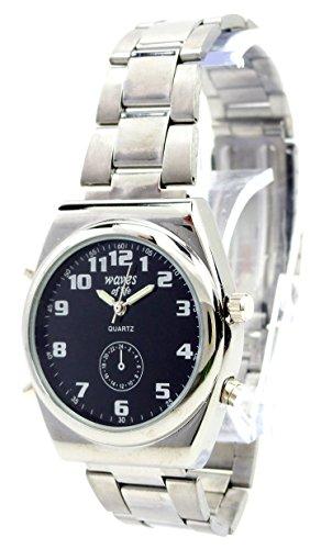 elegante schlichte und klassische Metall Armbanduhr fuer Sie und Ihn Ox20