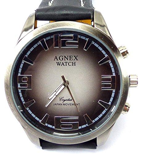 hochwertige Designer Armbanduhr Lederarmband