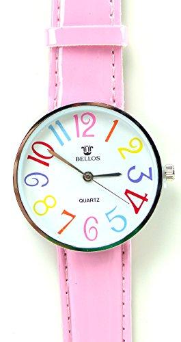 Tolle Marken Uhr mit knalligen Farben in schoenem Design ROSA UA7