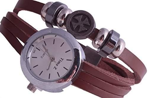 Damen Uhr Unisex Eisernes Kreuz Surfer Armbanduhr