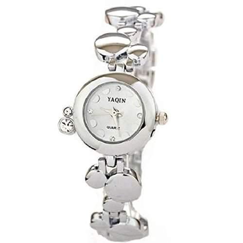 Neueste Marken-Uhr Damen Luxus-Uhren Diamant Bling Armband-Quarz-Armbanduhr