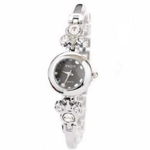Neueste Mode-Design-Frauen-Quarz-Uhr-Dame Mickey Steel Uhren